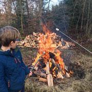 Lagerfeuer für die Kleinen... und die Großen!