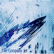 THE COMPANY JET, 1993,  Chemigrafik, 100 x 160 cm, Unikat