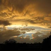 Immer wieder gibt es am Abend wunderbare Stimmungen am Himmel!
