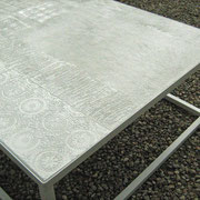 piano tavolo da giardino