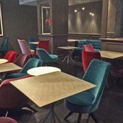 realizzazione piani tavoli, FIFTY HAUSE HOTEL, Milano