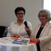Anita Fetz und Sibylle von Heydebrand