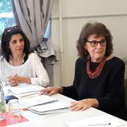 Montserrat Lopez und Valérie Bolliger