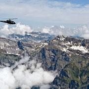 Frankfurt Hubschrauberflug Berge