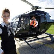 Hubschrauber Crew