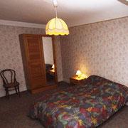 Chambre avec 1 lit 2 personnes