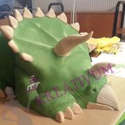 Dino Torte aus Fondant - Making of