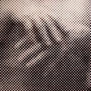 """""""Selbstbildnis/Hände"""", 2006, Linolschnitt auf Leinwand, 240 x 240 cm (12-teilig)"""