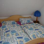 Schlafzimmer der Ferienwohung
