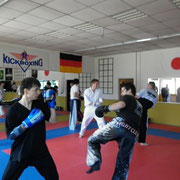 Mike Busse -  - Pointfighting Seminar mit Zvonko Gribl