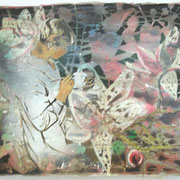 Monpti  Öl und Acryl auf Leinwand 30 x 40 cm, 2014
