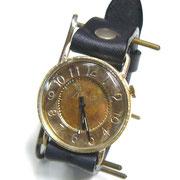 """JUM30 """"S-WATCH-JB1"""" アラビア数字 BK  ¥18,000(消費税別) (ローマ数字も可能です)"""