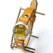 "305BSV ""Lady on Time-S"" カラーダイアル YL/キャメル ¥20,000(消費税別)"