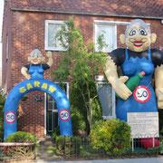 21-05-2015 De Sarah en de Sarah Feestboog aan de Wemekampstraat in Hellendoorn