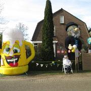 20-04-2015 Groot feest, onze Vrolijke Bierpul en 2 Abrahams kondigen het aan!