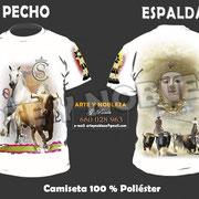 """03 - Camiseta """"El Rocio""""  - arteynobleza.jimdo.com"""