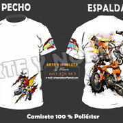 "02. - Camiseta ""X-FIGHTERS"" arteynobleza.jimdo.com"