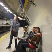 Осваиваем испанское метро