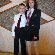 Мироновы Таня и Николай