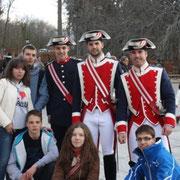 Встреча с испанской королевской гвардией