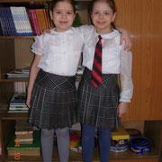 Капицыны Екатерина и Валерия