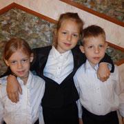 Мелеховы Аня, Люба и Никита