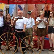 Der  Gesamtsieg bei den Herren ging an Vorstand Richard Stoiber, als Teilnehmer mit dem ältesten Rad.