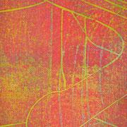 Gießkannen rot-gelb-grün  21,8 x 12,5 cm