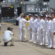 Condecoración al Comandante German Locarno por parte del señor presidente Juan Manuel Santos