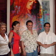 Inauguracion Casa San Agustin y Exposicion Rafael Espitia