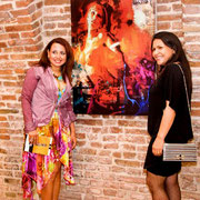 """EARTH VORTICES"" Castello Estense by Vivid Arts Network. May 12th 2012, Ferrara Italy."