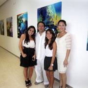 Obra digital de Rafael Espitia serie Aqua realizada para cada habitación del hotel Las Américas Torre del Mar
