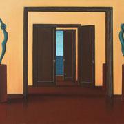 Klassische Malerei - Lasurtechnik, Figuren, Türen, Durchgang, Skulpturen, Thomas Klee