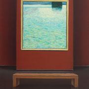 Klassische Malerei - Lasurtechnik, Gustav Klimt, Die Insel, Museum, Thomas Klee