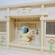 東型一社箱宮+特上ご神鏡(中)