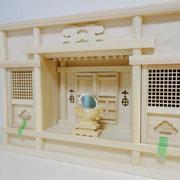 東型一社箱宮+特上ご神鏡(小)