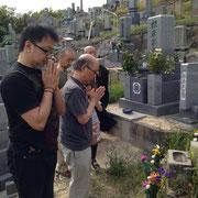 念願のお墓参りもできました。