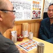 石濱家へなだれ込み、翌朝は匡雄君おすすめの海鮮どんぶり屋さんへ
