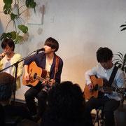 ヒトリルーム×中野清花 support guitar, 石倉大地