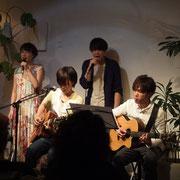 寺前未来×ヒトリルーム×中野清花  support guitar, 石倉大地