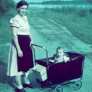 Agnes Redlinghofer mit Tochter Regina