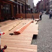 Holzbau / Terrasse