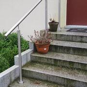 5-Stufen Edelstahl Handlauf