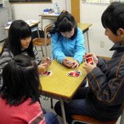 宝田学習塾 休み時間のようす