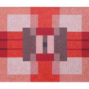 Einblendung I, 100x120 cm, Acryl,Papier,Leinwand, 2010