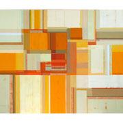 Neue Räume IV, 100x120 cm, Acryl auf Nessel, 2012