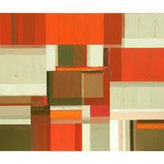 Neue Räume I, 80x100 cm, Acryl auf Nessel, 2012