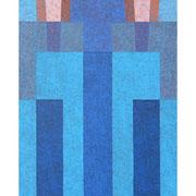 Erste Ausstrahlung, 93x55 cm, Acryl,Papier,Leinwand, 2006