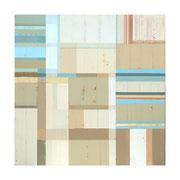 Neue Räume VI, 100x100 cm, Acryl auf Nessel, 2012