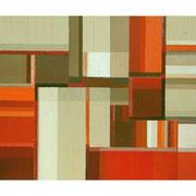 Neue Räume II, 80x100 cm, Acryl auf Nessel, 2012